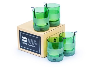 """Candlesticks and candle holders - Tealight holder """"Green"""" - IWAS PRODUCTS"""