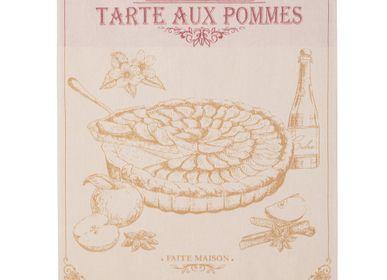Tea towel - Tartes aux Pommes - Tea towel - COUCKE