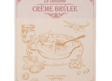 Tea towel - Crème Brulée - Tea towel - COUCKE