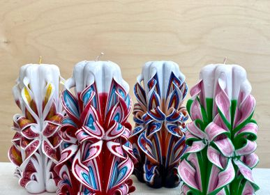 Other smart objects - Handmade carved candles from Lettland & Mexico - INTERNATIONAL WARDROBE