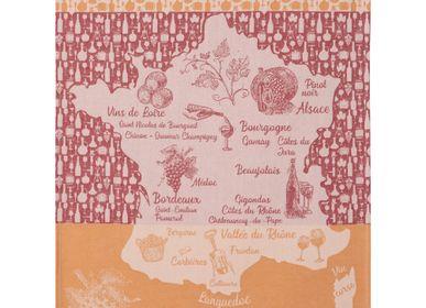 Tea towel - Vin Rouge de France - Tea towel - COUCKE