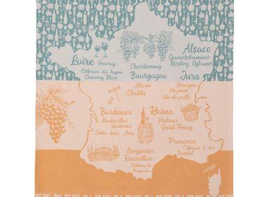 Tea towel - Vin Blanc de France - Tea towel - COUCKE