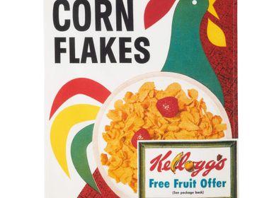 Torchons textile - Kellog's - Corn Flakes - Torchon imprimé - COUCKE