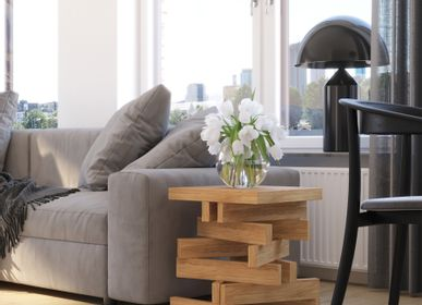 Coffee tables - Side table OSCAR from solid wood - WOODEK