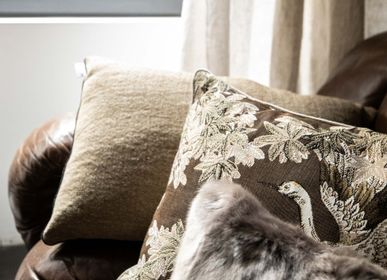 Fabric cushions - Voltaire Jonc - Cushion case - ALEXANDRE TURPAULT