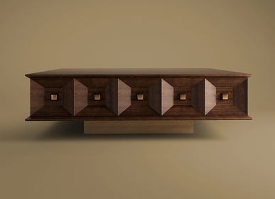 Coffee tables - Smith Center Table - WOOD TAILORS CLUB