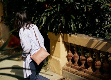 Bags and totes - Olsen PInk-Camel - TECLA BARCELONA