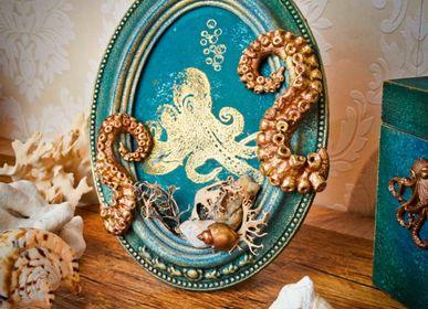 Cadres - Cadre décoratif Ovale Cthulhu - ATELIER TAMBONE