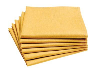 Table linen - Cambrai Maïs - Tablecloth and napkin - COUCKE