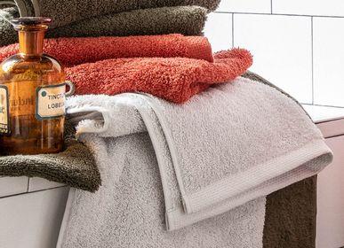 Serviettes de bain - Aqua Gris Perle - Serviette, gant, peignoir et tapis de bain - ESSIX