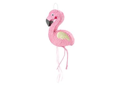 Objets de décoration -  Pinata - Flamant rose, 25 x 55 x 8 cm - PARTYDECO