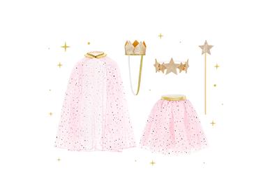 Children's party goods - Princess costume - PARTYDECO