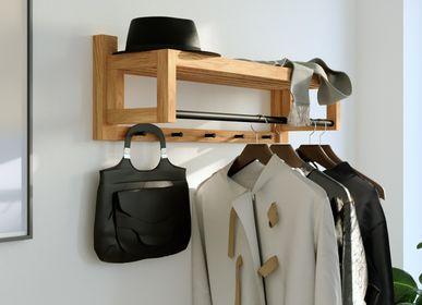 Wardrobe - Wall mounted coat rack BO - WOODEK