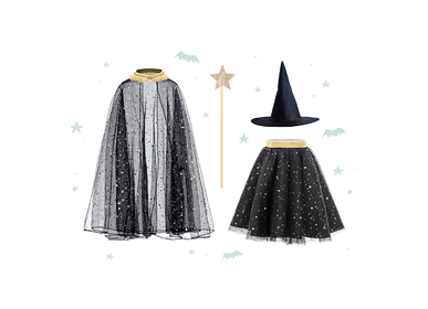 Children's party goods - Witch Costume - PARTYDECO