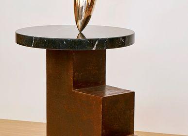 Sculptures, statuettes et miniatures -  sculpture en bronze Génesis- La Pensée - VAN DEN HEEDE-FURNITURE-ART-DESIGN