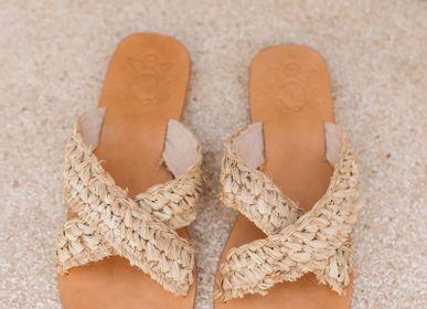 Chaussures - SANDALES EN RAPHIA - MON ANGE LOUISE