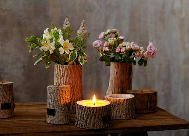 Vases - ROCKY wooden vase (waterproof and shockproof) - WOOD MOOD