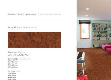 Indoor floor coverings - Ingenious Grid Flooring - J&J TEIXEIRA