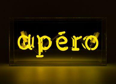 Lampes de table - ENSEIGNE NÉON EN VERRE «APÉRO» - LOCOMOCEAN