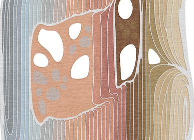 Decorative objects - Gamma Est bright color hand-knotted rug - TAPIS ROUGE