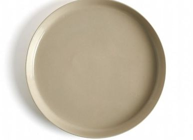 Everyday plates - Small Size Handmade Porcelain Round Plate - FIOVE ARTISANAL