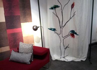 Rideaux et voilages - rideaux en lin faits main  - ELENA KIHLMAN