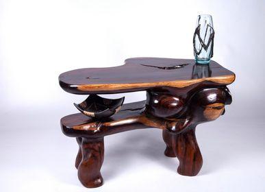 Tables basses - Table basse Palissandre des Indes - DECOETHNIQUE