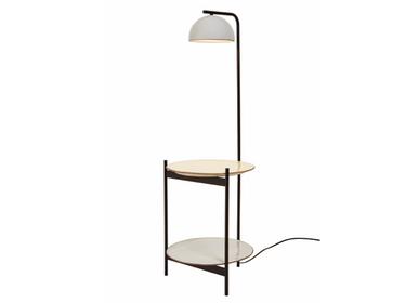 Floor lamps - ABSIS floor lamp in natural terracotta - LUXCAMBRA