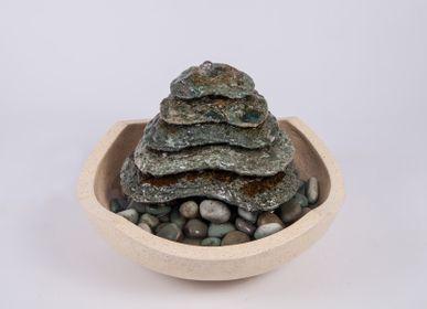 Objets de décoration - Fontaine en pierre aztèque - DECOETHNIQUE