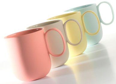 Café et thé - Mug en porcelaine fabriquée - FIOVE ARTISANAL