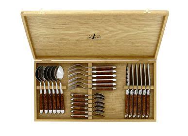 Flatware - 24 Piece Cutlery Set - FORGE DE LAGUIOLE