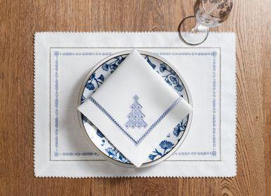 Table linen - Set of napkins 40 * 40 cm 2 pcs. Cristmas and New Year collection - KRESTETSKAYA STROCHKA