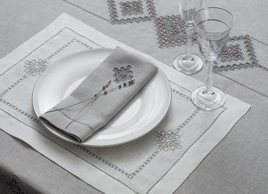 Table linen - Set of napkins 40 * 40 cm 4 pcs. Sankt-Petersburg collection - KRESTETSKAYA STROCHKA