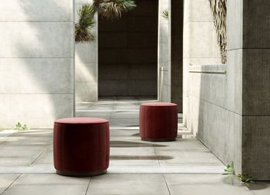 Stools for hospitalities & contracts - LOW POUF - DOMKAPA