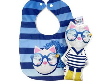 Childcare  accessories - birth kit, 1 bib + plush - J'VAIS L'DIRE À MA MÈRE !
