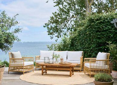 Sofas for hospitalities & contracts - Caroline Exterior Sofa - SIKA-DESIGN