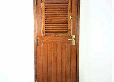 Decorative objects - Porte de bateau en acajou - JD PRODUCTION - JD CO MARINE