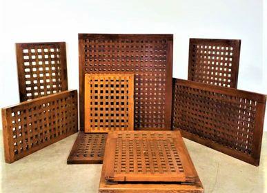 Objets de décoration - Caillebotis en bois. - JD PRODUCTION - JD CO MARINE