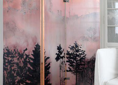 "Wall ensembles - Screen ""Mists"" - ELODIE FAMEL LAQUE"