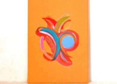 Paintings - Ouc - original acrylic paint - IMOGEN HOPE