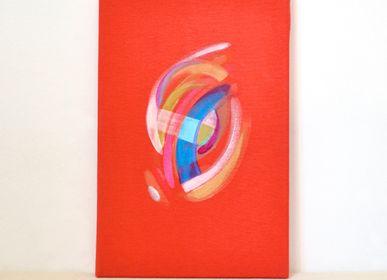 Paintings - Mae - original acrylic paint - IMOGEN HOPE
