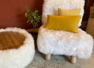Armchairs - Armchair Pegasus Sheep - ADJAO MAISON