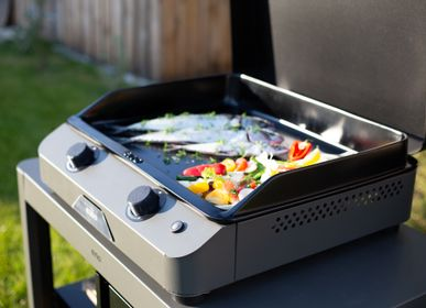 Barbecues - Plancha Fusion 60 grise - ENO PLANCHA