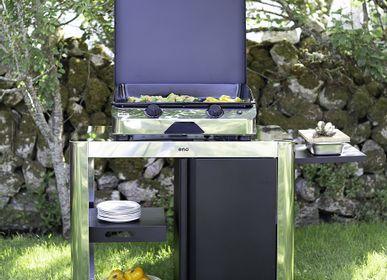 Barbecues - Desserte ACHILLE BLEU NAVY - ENO PLANCHA