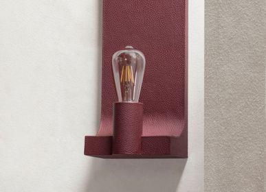 Design objects - WALCOTT LEATHER WALL LAMP - GIOBAGNARA