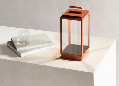 Design objects - BLAKES LEATHER TABLE LAMP - GIOBAGNARA