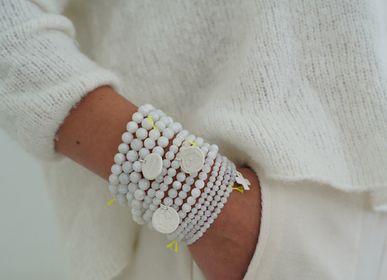 Bijoux - BRACELET DIVINE BLANC  - MARGOTE CERAMISTE