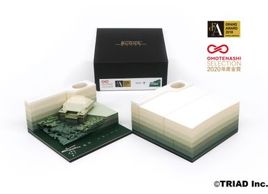 Objets design - SHAPE Kyoto -RIN- - OMOSHIROI BLOCK