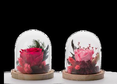Décorations florales - COLLECTION VERRINES STABILISEES - NATURALYS
