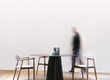Dining Tables - LOMBOK TABLE - TERRE ET METAL